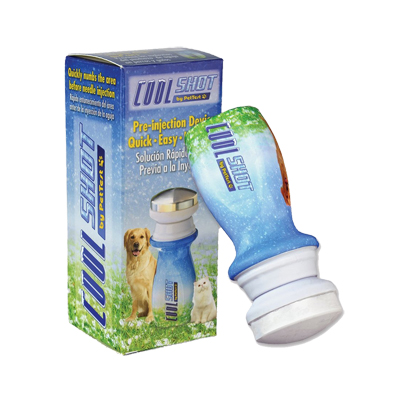 COOLshot Pre-Injection Pain Prevention for Pets with Diabetes
