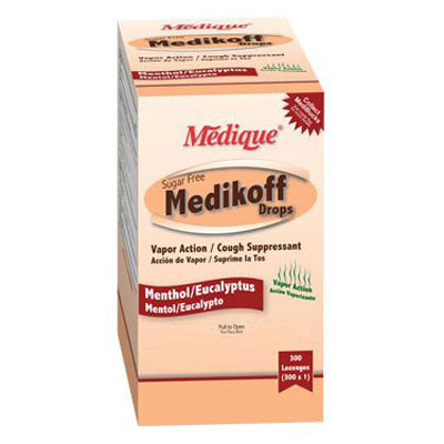 Cough Relief Medikoff 6.1 mg Strength Lozenge 300 per Box