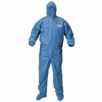 Coverall Kleenguard A60 Large Blue Disposable