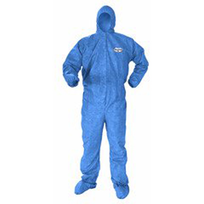Coverall Kleenguard X-Large Blue Disposable