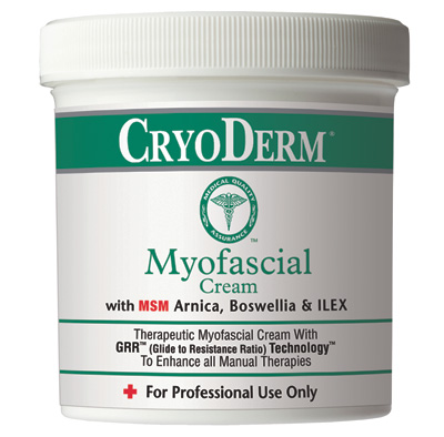 Cryoderm Myofacial Cream 16 oz Gel