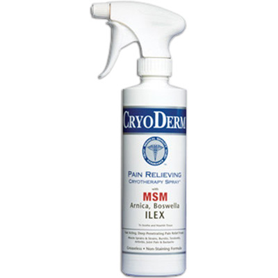 Cryoderm Pain Relief Spray - 16 oz Expires July 2017