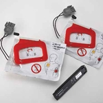 Defib Replacement Kit 1 Set Electrodes,1 Battery Charger, Instructions, Discharger CHARGE-PAK Battery Charger