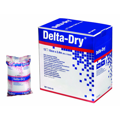 Delta-Dry Cast Padding Water Resistant 2 in x 2.6 yd Synthetic NonSterile