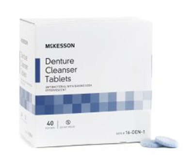 Denture Cleaner McKesson Tablet