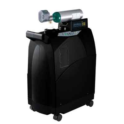 DeVilbiss Healthcare iFill Personal Oxygen Station, Carrying Case, 2 E-CF Cylinders 535d-2ec