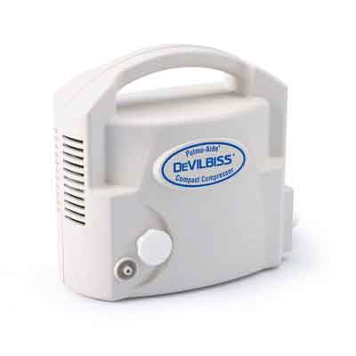 DeVilbiss Healthcare Pulmo-Aide Compact Compressor Nebulizer System with Disposable Nebulizer 3655d