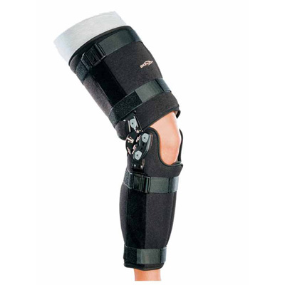DonJoy Rehab TROM Knee Brace Medium 18 to 22 in Circumference 17 in Length
