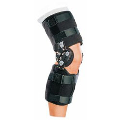DonJoy Rehab TROM Knee Brace X-Large 27 - 32 in 17 in Length Left or Right Knee