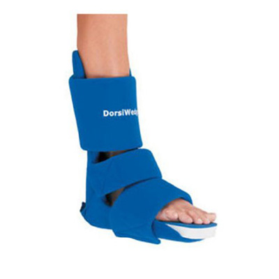 Dorsiwedge Night Splint Medium Hook and Loop Closure Female Size 7 - 10 / Male Size 6.5 - 9.5 Left or Right Foot