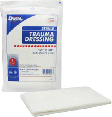 Dukal Dressing Multi Layer 12 X 30 Inch Sterile - Case of 25