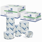 Dressing Retention Tape Omnifix Skin Friendly NonWoven 6 Inch X 10 Yard White NonSterile