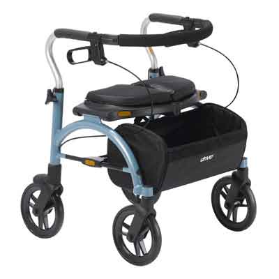 Drive Medical Arc Lite Rollator, Blue 102exl-bl