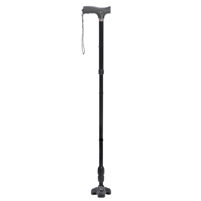 Drive Medical Flex N Go Adjustable Folding Cane with T Handle RTL10305