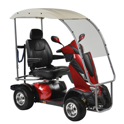 Drive Medical King Cobra Personal Golf Vehicle Executive Power Scooter 4 Wheel 22 Captain Seat KINGCOBRA422CS-PGV