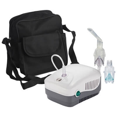 Drive Medical MEDNEB+ Nebulizer with Reusable and Disposable Neb Kit  and Bag - Model MQ5700B