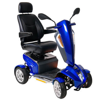 Drive Medical Odyddey GT Power Scooter, 18 in Captains Seat - Model ODYSSEYGT18CS