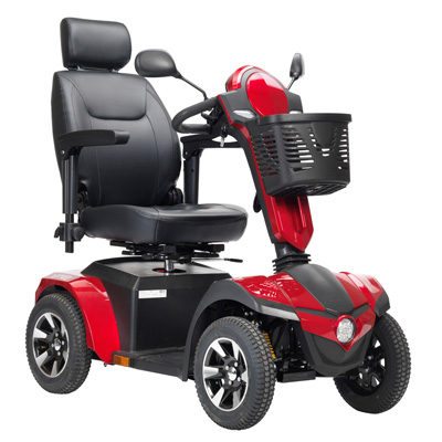 Drive Medical Panther 4-Wheel Heavy Duty Scooter 22 Captain Seat PANTHER22CS