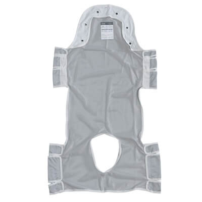 Drive Medical Patient Lift Commode Sling with Head Support - Model 13233D