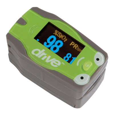 Drive Medical Pediatric Fingertip Pulse Oximeter - Model 18707