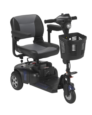 Drive Medical Phoenix Heavy Duty Power Scooter 3 Wheel 20 Seat PHOENIXHD3-20