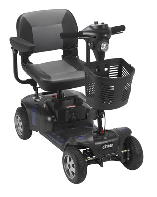 Drive Medical Phoenix Heavy Duty Power Scooter 4 Wheel 20 Seat PHOENIXHD4-20