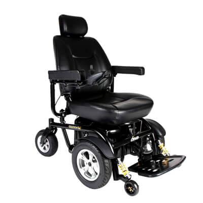 Trident HD Power Chair, 24 in Seat - Model 2850HD-24 - Drive Medical