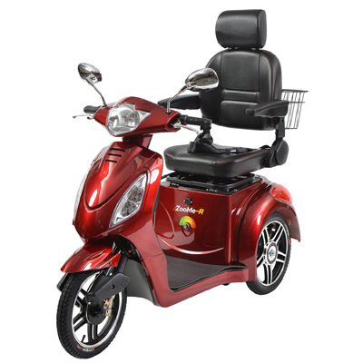 Drive Medical zooMe-R 3-Wheel Recreational Power Scooter ZOOME-R318CS