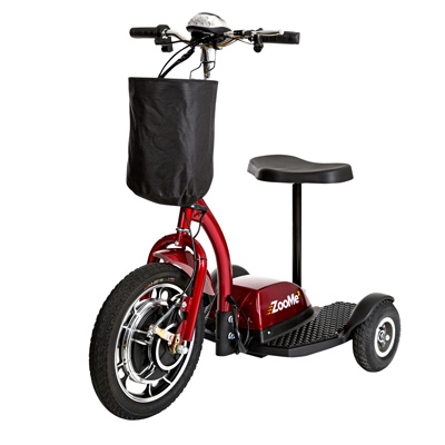 Drive Medical zooMe Three Wheel Recreational Power Scooter ZOOME3