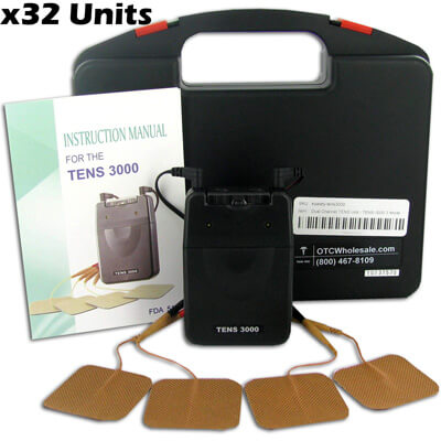 TENS-3000 TENS Unit - 3 Mode - DT3002 - 32 Units