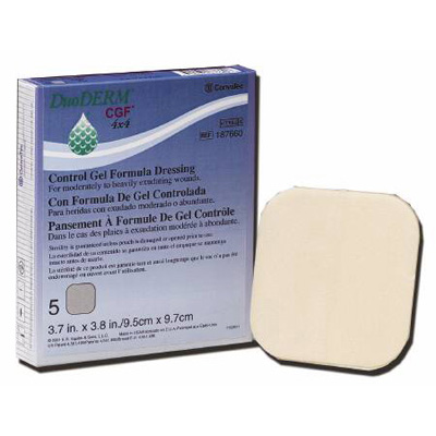 DuoDERM CGF Sterile Wound Dressing 6 x 6 in Square (20/Bx)