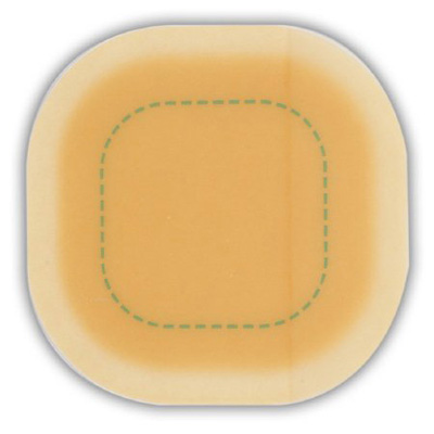 DuoDERM Signal Hydrocolloid Dressing 8 x 8 in Square Sterile