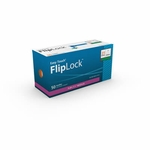 Easy Touch FlipLock Safety Needles, 50 ct - 21 Gauge 1 in - Model 812101