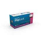 Easy Touch FlipLock Safety Needles, 50 ct - 22 Gauge 1.5 in - Model 812207