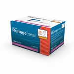 Easy Touch Fluringe FlipLock Safety Syringe, Fixed, 100 ct - 25 Gauge 1 cc, 1 in - 825201