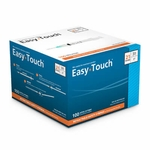 Easy Touch 21 Gauge 3 cc 1 in Retractable Safety Syringe w/ Exchangeable Needle 100 ea Expires March 2018