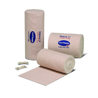 Elastic Bandage Deluxe 480 Lf 3 Inch X 5 Yard High Compression