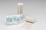 Elastic Bandage EZe-Band LF 6 Inch X 11 Yard Standard Compression Double Hook and Loop Closure Tan NonSterile