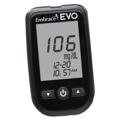 Embrace® EvoBlood Glucose Monitoring System