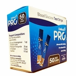 Embrace Pro Blood Glucose Test Strips, 50ct