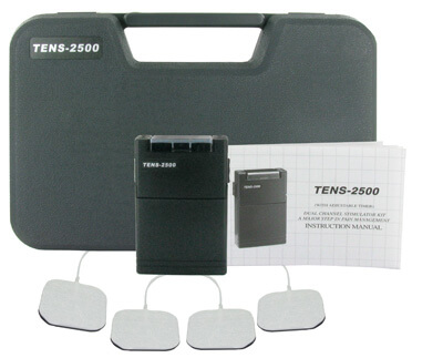 EMSI TENS-2500 Analog TENS Unit - 3 Mode with Timer