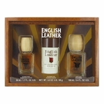 English Leather Everyday 3-Pc Gift Set - Cologne Splash (1.7 oz), AfterShave (3.4 oz) & Deodorant Stick (3.0 oz) - 1 ea