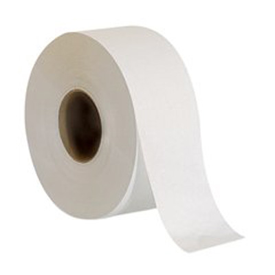 Envision Toilet Tissue White 2-Ply Jumbo Size Cored Roll Continuous Sheet 3.5 Inch X 1000 Foot - Case of 8