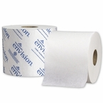 envision Toilet Tissue White 2-Ply Standard Size Cored Roll 1000 Sheets 3.95 X 4.05 Inch