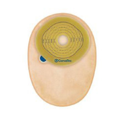 Esteem + Filtered Ostomy Pouch One-Piece System 8 in Length 1 in Stoma Closed End Pre-Cut