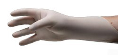 Exam Glove Pulse 151 Series NonSterile White Powder Free Latex Ambidextrous Fully Textured Not Chemo Approved Large