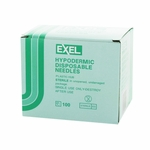 Exel 26414 Hypodermic Needle - 21 Gauge x 1 in 100 count