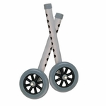 Drive Medical Extended Height 5 in Walker Wheels and Legs Combo Pack