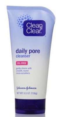 Clean & Clear Facial Cleanser Daily Pore Liquid 5.5 oz. Tube Scented - Case of 24