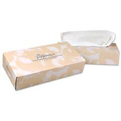 Facial Tissue Preference White 7-3/5 X 9 Inch